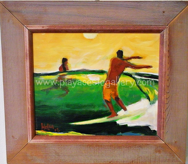 Playa Oeste Gallery, is the best in tropical surf art, local ...